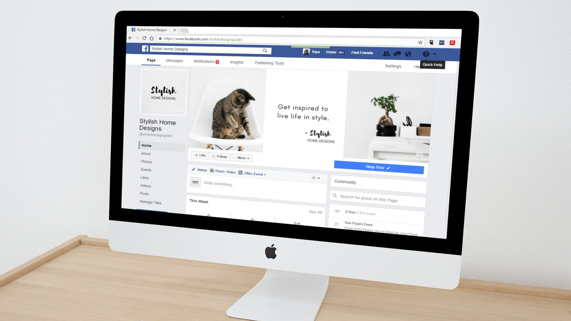 Generate leads on Facebook for free