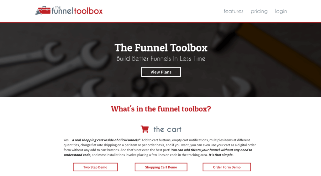 Funnel Toolbox