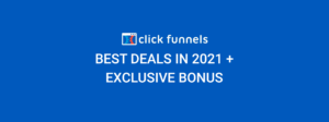 Clickfunnels Best deals in 2021